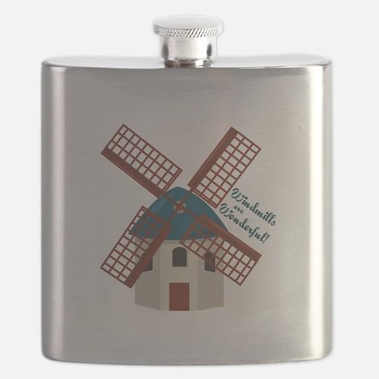 Wonderful Windmills Flask