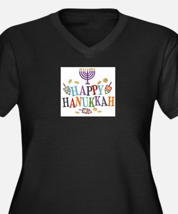 Hanukkah Plus Size T-Shirt