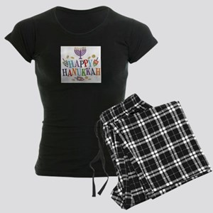 Hanukkah Women's Dark Pajamas