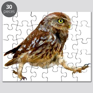 Determined Marching Owl Puzzle