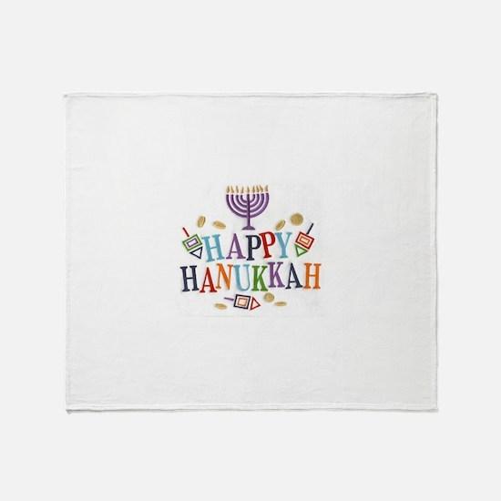 Hanukkah Throw Blanket