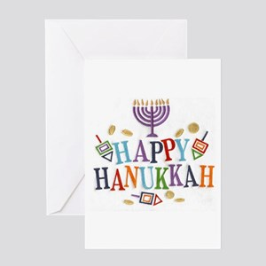 Hanukkah greeting cards cafepress hanukkah greeting cards m4hsunfo