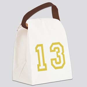 GOLD #13 Canvas Lunch Bag