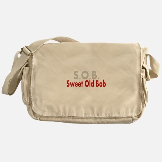SOB Sweet Old Bob Messenger Bag