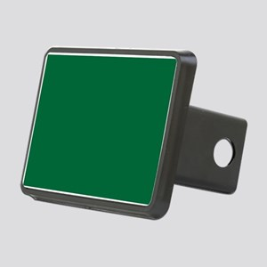 Dark Spring Green Solid Color Hitch Cover
