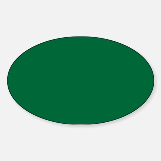Dark Spring Green Solid Color Decal