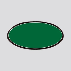 Dark Spring Green Solid Color Patches