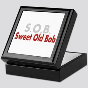 SOB Sweet Old Bob Keepsake Box