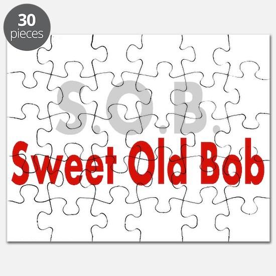 SOB Sweet Old Bob Puzzle
