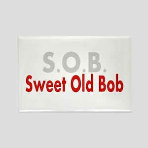 SOB Sweet Old Bob Magnets