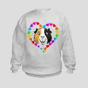 Guinea Pig Heart Frame Sweatshirt