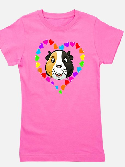 Guinea Pig Heart Frame T-Shirt