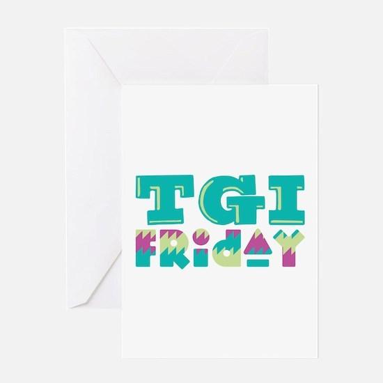 TGI Friday Greeting Cards