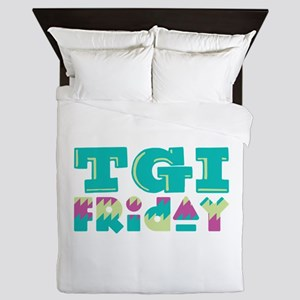TGI Friday Queen Duvet