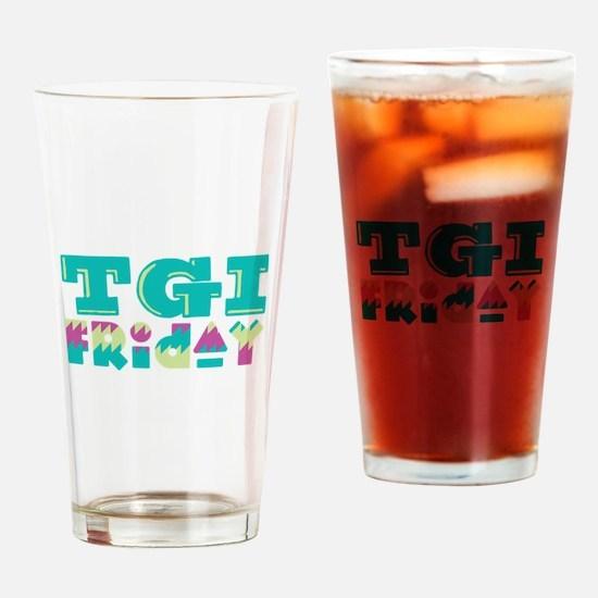 TGI Friday Drinking Glass