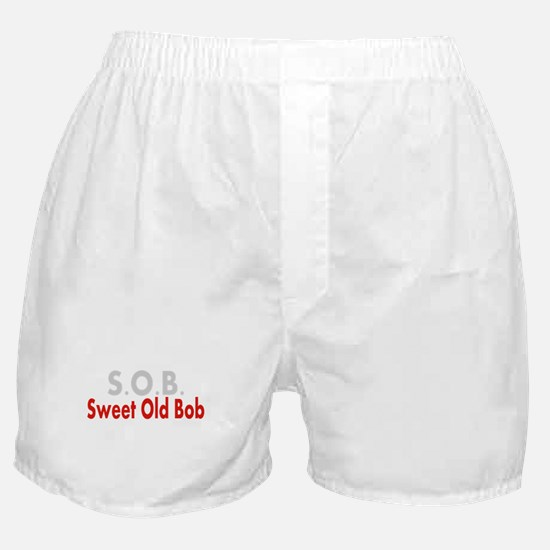 SOB Sweet Old Bob Boxer Shorts