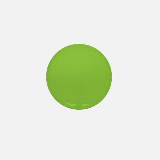 Spring Green Solid Color Mini Button
