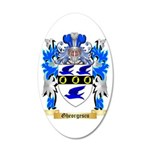 Gheorgescu 35x21 Oval Wall Decal