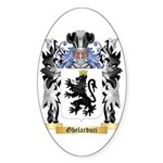 Ghelarduci Sticker (Oval)