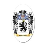 Ghelarduci 35x21 Oval Wall Decal