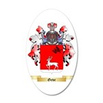 Geve 35x21 Oval Wall Decal