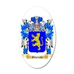 Geurrato 35x21 Oval Wall Decal