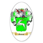 Gettens Sticker (Oval 50 pk)