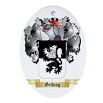 Gething Ornament (Oval)