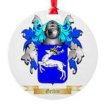 Gethin Round Ornament