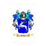 Gethin Sticker (Rectangle 10 pk)