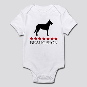 Beauceron (red stars) Infant Bodysuit