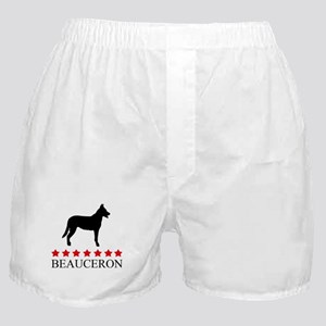 Beauceron (red stars) Boxer Shorts