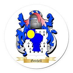 Getchell Round Car Magnet