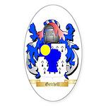 Getchell Sticker (Oval 10 pk)