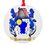 Getchel Round Ornament