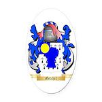 Getchel Oval Car Magnet