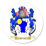 Getchel Round Car Magnet