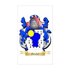 Getchel Sticker (Rectangle)