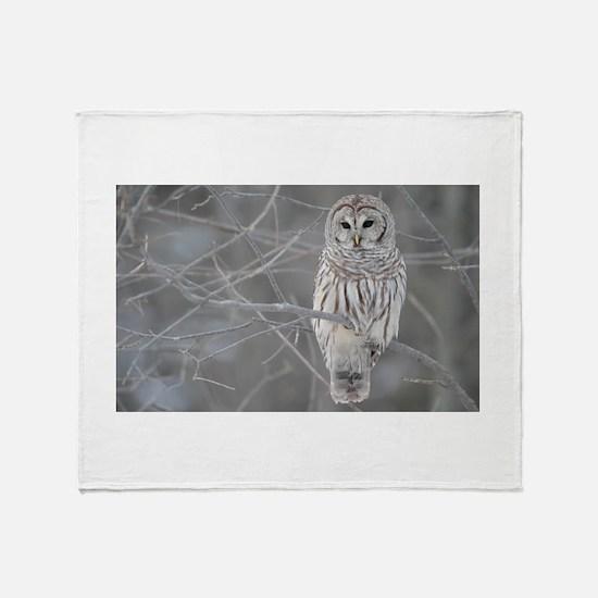 owl Throw Blanket