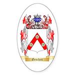 Geschen Sticker (Oval 50 pk)
