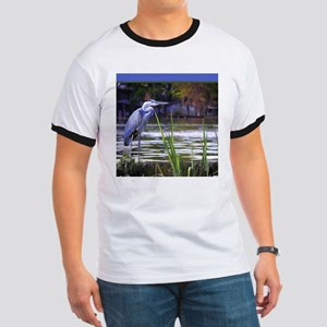 Blue Heron Sketch T-Shirt