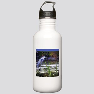 Blue Heron Sketch Stainless Water Bottle 1.0L