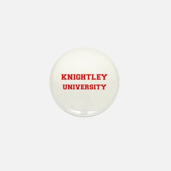 KNIGHTLEY UNIVERSITY Mini Button