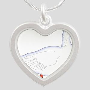 White Goose Necklaces