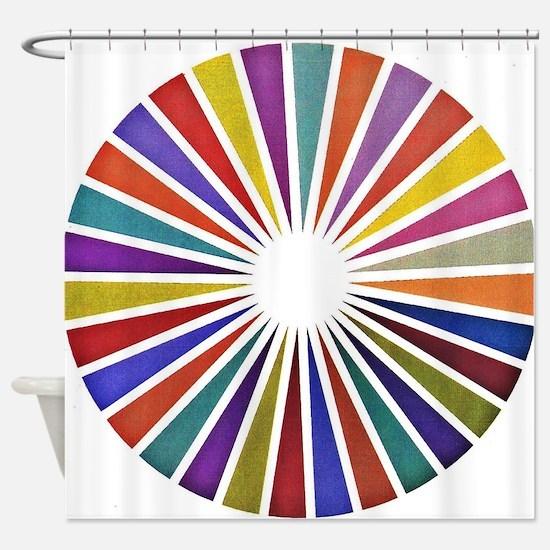 Cute Graph Shower Curtain
