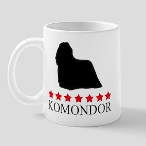 Komondor (red stars) Mug