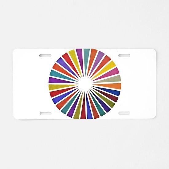 Funny Graph Aluminum License Plate