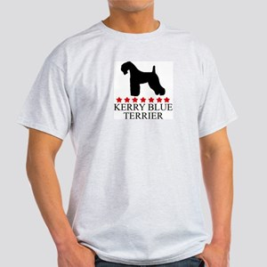 Kerry Blue Terrier (red stars Light T-Shirt