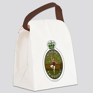 Barre Hopping Canvas Lunch Bag