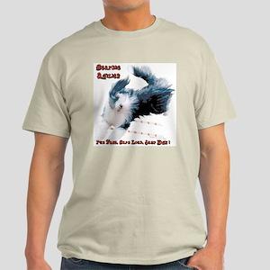 Beardie Agility 2 Ash Grey T-Shirt